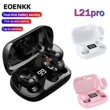 L21 Pro TWS Mini Bluetooth Earphone Headphones Wireless Sports Earbuds Waterproof Stereo Surround Sound Works On All Smartphones