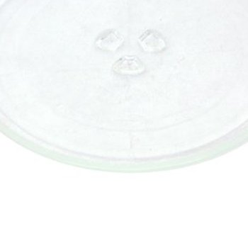 Universal Plataforma Giratoria Para Microondas Placa De Vidrio Micro Vidrio Bandeja Giratoria Accesorios Diámetro 24,5 Cm Con 3 Accesorios