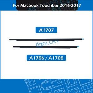 10 pçs/lote a1706 a1707 a1708 lcd logotipo moldura para macbook pro retina 13