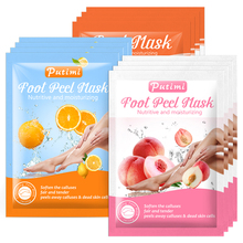 Putimi 3Pack Feet Peeling Masks Exfoliating Foot Skin Care Socks for Pedicure Spa Socks Feet Peel Cuticles Remover Foot Masks feet o p i asa02 foot care cream gel masks deodorants