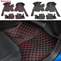 Leather Car Floor Mats Carpets Foot Mat Pads for Chevrolet Camaro 2017 Up Car Interior Decoration Car Accessories Styling