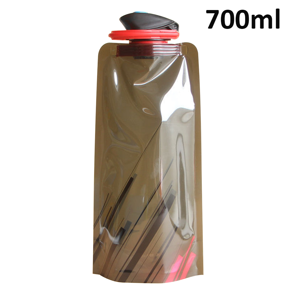 H9cc0b60994c2415584bea7e4eb97d1eb5 700ml Water Bottle Bags Environmental Protection Collapsible Portable Outdoor Foldable Sports Water Bottles For Hiking Camping