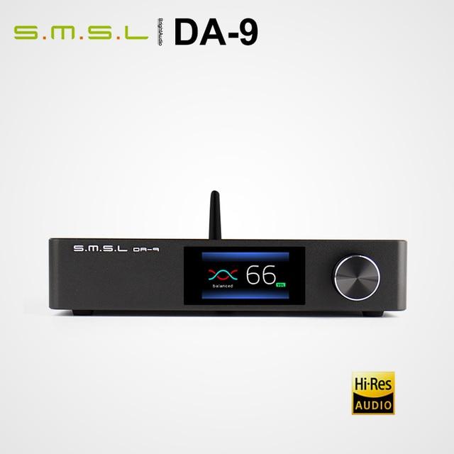 Smsl DA 9 DA9 Bluetooth 5.0 Hi Res Eindversterker Amp Ondersteuning Apt X Afstandsbediening Rca/Xlr input