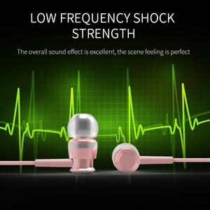 Image 5 - Joyroom Wired אוזניות ב אוזן אוזניות 3.5mm ספורט אוזניות עבור טלפון סטריאו בס צליל מתכת מיקרופון עבור Xiaomi סמסונג