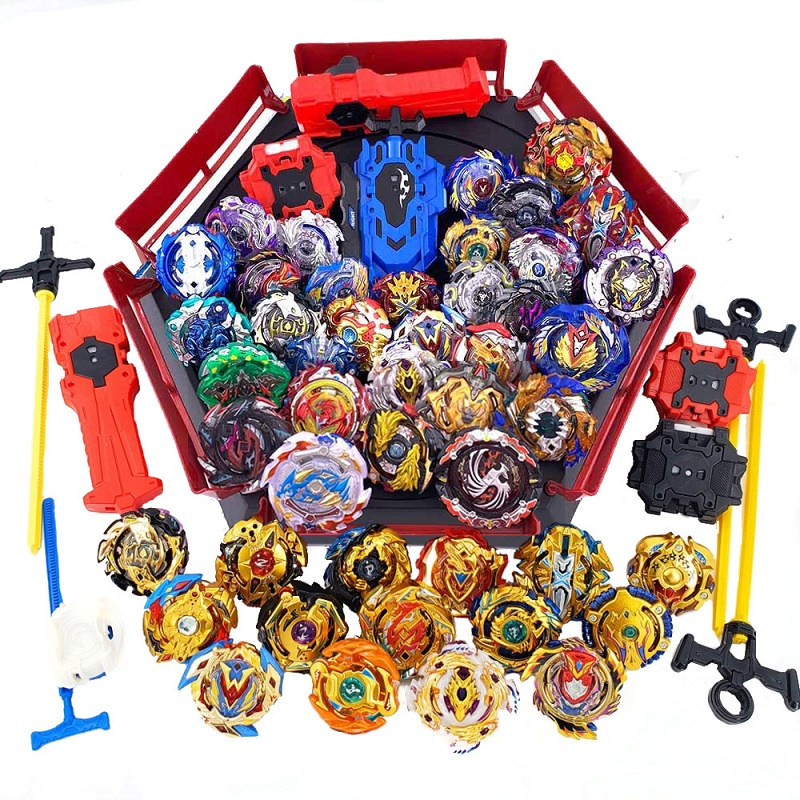 Hot set Beyblade Arena Spinning Top Metal Fight Bey blade Metal Bayblade Stadium Children Gifts Classic Toy For Child beyblade set