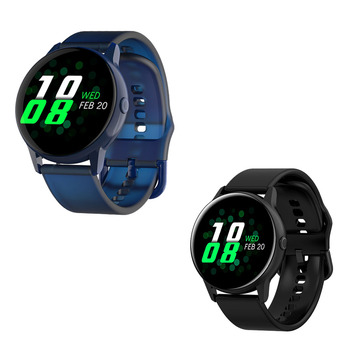 2020 New Fitness Smartwatch IP68 Waterproof Wearable Device Heart Rate Monitor Sports Smart Watch For Android IOS Long Standby