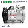 Для автомобиля HINO Dutro DYNA 4500 4.6L AC компрессор 10S15C 11796G 447170-6460 447220-3514 4471706460 4472203514 24V 12V