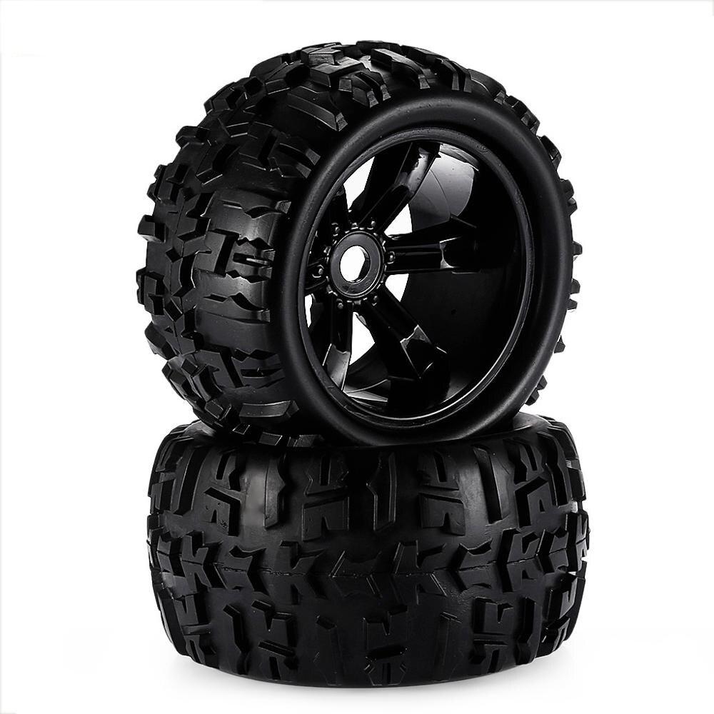 RC автомобиль внедорожный 1/8 для Monster Truck Bigfoot шины 17 мм шестигранные колеса 2 шт игрушечная автомобильная шина|Детали и аксессуары|   | АлиЭкспресс