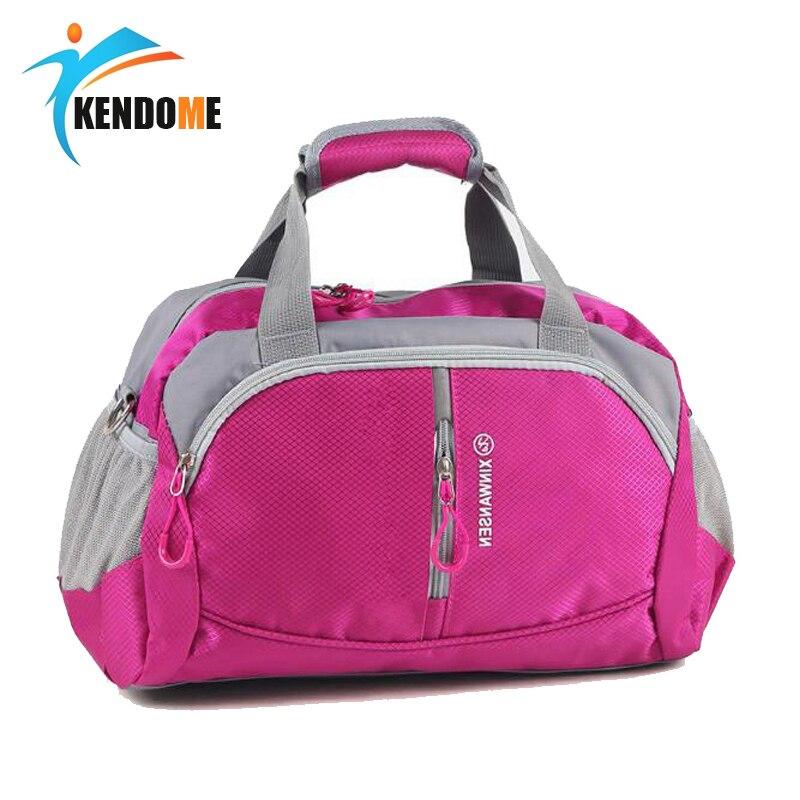 Hot Professional Nylon Waterproof Sports Gym Bag Women Men For The Gym Fitness Training Shoulder Handbags Bag Yoga Bag Luggage