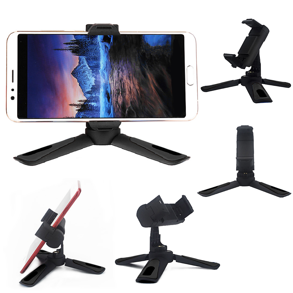 360 Degree Rotation Multifunctional Lazy Desktop Mobile Phone Bracket Plastic Desktop Expanded Bracket Monopod Selfie Stand