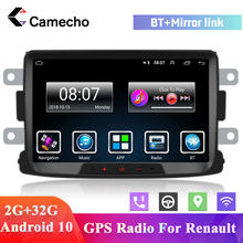 Camecho 2Din Android Mobil Radio Multimedia Video Player GPS Navigasi Mobil Autotadio 2din untuk Renault Dacia Duster Sandero Logan(China)