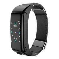 B6 inteligente deportes pulsera un dos-en-uno pulsera inteligente con auriculares Bluetooth reloj inteligente reloj pulsera dropshipping. Exclusivo.
