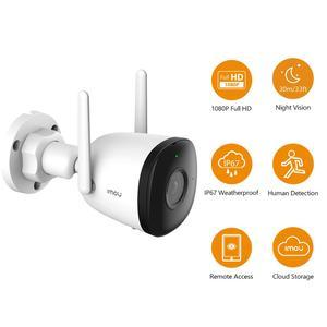Dahua imou 1080P Wi-Fi Camera Dual Antenna Outdoor IP67 Weatherproof Audio Recording Camera AI Human Detection Camera