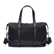 New Solid Travel Handbags Men Business Sport Luggage Laptop Suitcase Women Casual Overnight Trip Duffle Crossbody Bags S084