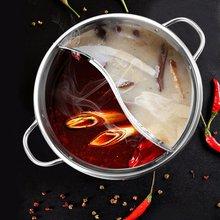 Gas-Stove Duck-Pot Induction-Cooker Soup Compatible-Pot 30cm Mandarin Home