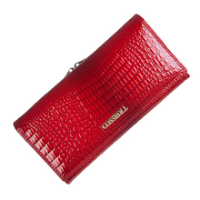 genuine leather wallet women long lady purse crocodile pattern female wallets luxury designer real leather coin purses
