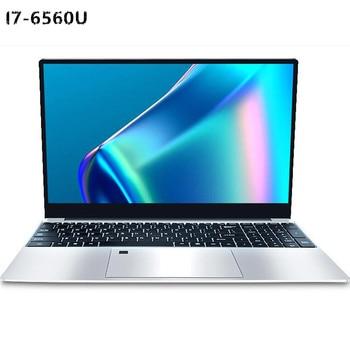 Core i7 6560U Laptop 15.6 inch 4G/ 8G / 16G DDR4 1TB 128G 256G 512G Notebook Computer Gaming Laptops Backlit Keyboard IPS Screen 1