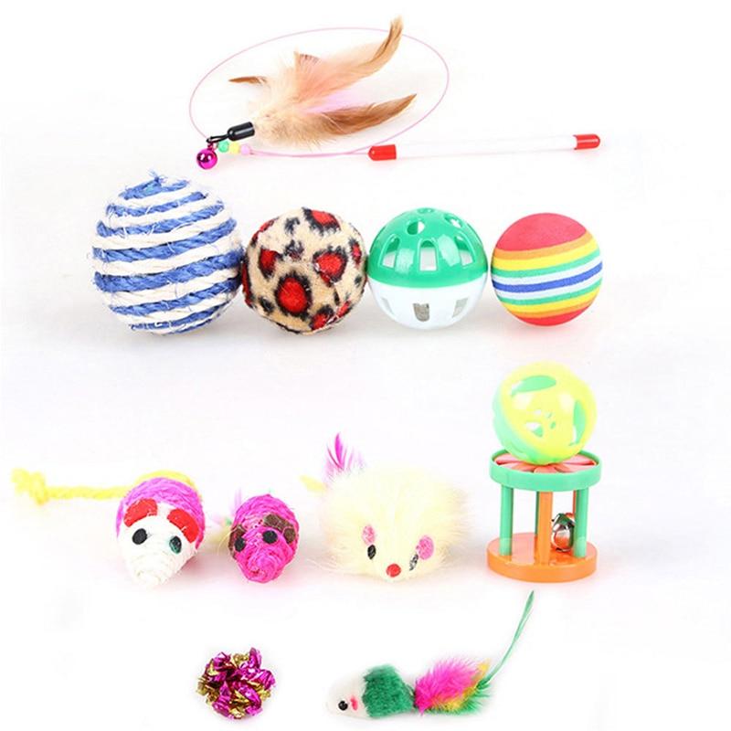 Pets Cat Toys Mouse Shape Balls Shapes Kitten Love New Pet Toy 21 Set Cat Channel