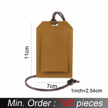 Cover Wallets Card-Holder Credit Genuine-Leather 100pieces/Lot Retro Vintage School 11x7cm
