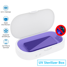 Multi Function UV Disinfection Box, Mobile Phone Mask, Personal Object Sterilization Cleaner, Aromatherapy and Antivirus