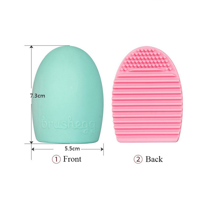 Makeup Brushes Cleaner Silicone Pad Mat Cosmetic Eyebrow Brush Cleaner Tool Brush Washing Tool Scrubber Board Brush Cleaning Pad 3
