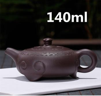 2020 Teapot Yixing Zisha Clay Chinese Handmade Tea Pot Gongfu Set 140ml High Quality New Design Safe Packaging With Gift Box