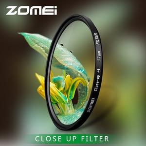 Image 5 - Zomei ماكرو عن قرب عدسة تصفية 1 2 3 4 8 10 الزجاج البصري كاميرا تصفية 40.5/49/52/55/58/62/67/72/77/ 82 مللي متر لـ DSLR SLR