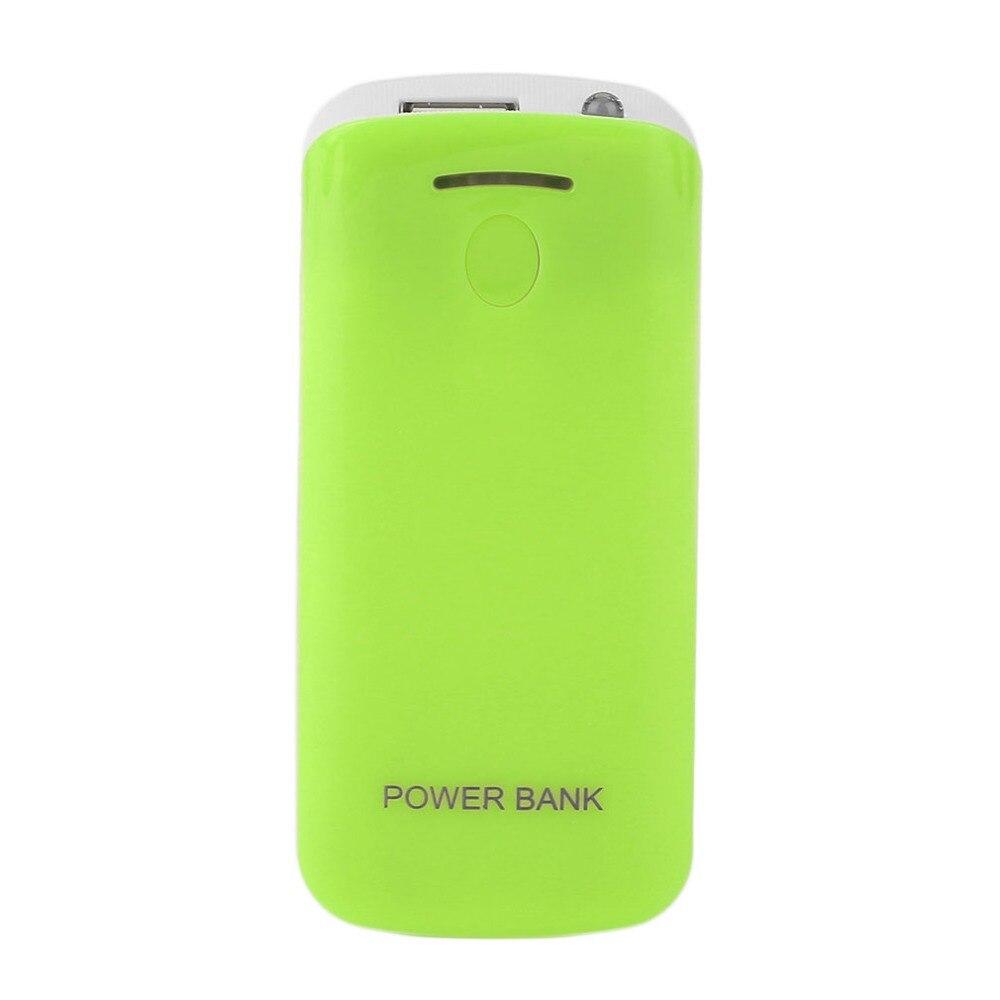 Creative Design 5600mAh USB Charging Portable External Backup Battery Charger 2*18650 Battery Power Bank Case