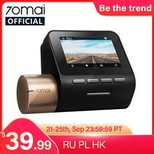 New 70mai Dash Cam Lite 1080P Speed Coordinates GPS Modules 70mai Lite Car Cam Recorder 24H Parking Monitor 70mai Lite Car DVR(China)