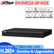 Engels Met Logo 16ch Nvr 4K Eoc NVR5216 16P 4KS2E 1U 16PoE H.265 Pro Network Video Recorder