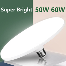 E27 Led Lamp 220V Led Lamp Lampen 15/20/30/40/50W 60W Ufo Spots Bombillas Ampul Led Verlichting Voor Thuis Verlichting Wit