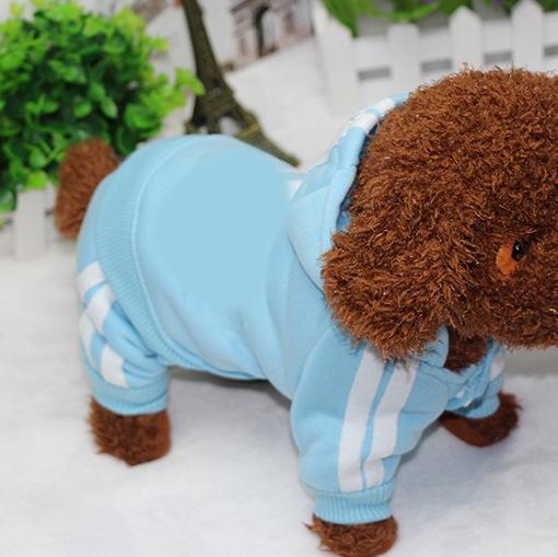 PUOUPUOU Winter Warm Pet Dog Clothes Hoodies Sweatshirt for Small Medium Dogs French Bulldog Sweet Puppy Dog Clothing XS-XXL 23