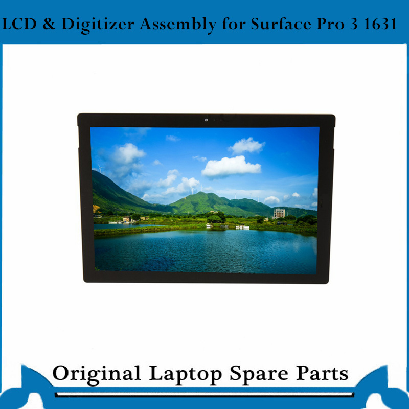 LCD Complete For Microsoft <font><b>Surface</b></font> <font><b>Pro</b></font> <font><b>3</b></font> LCD digitizer Assembly Display touch screen LTL120QL01 image
