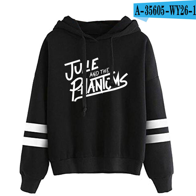 JULIE AND THE PHANTOMS THEMED STRIPED HOODIE (25 VARIAN)