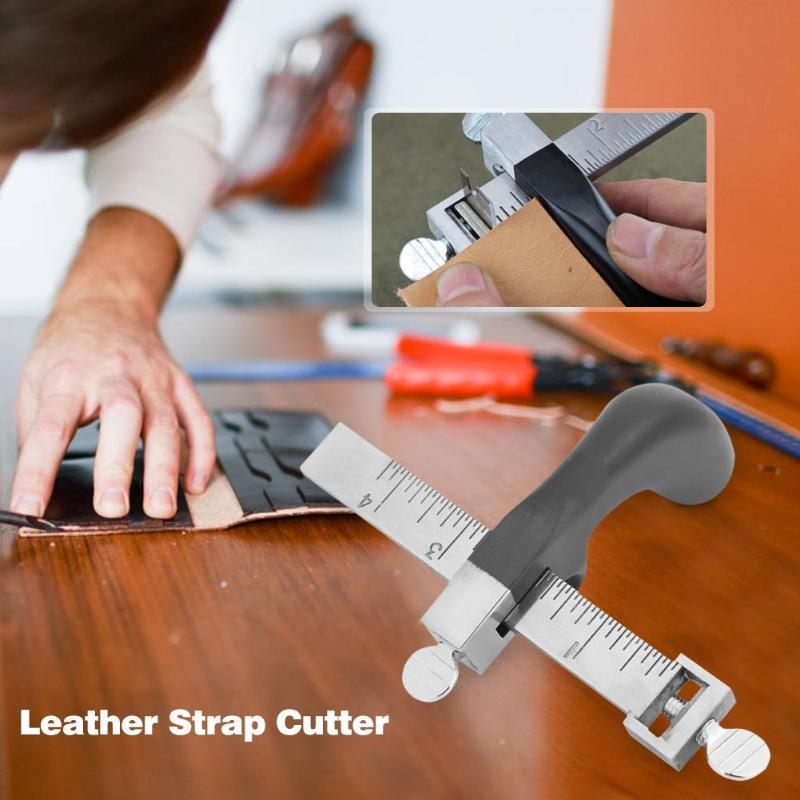 Резак для кожаного ремня полоса для кожевенного ремесла Модный ручной резак для самостоятельного резания инструмент для домашнего рукодел...
