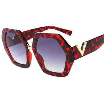 2021 Luxury Square Sunglasses Ladies Fashion Glasses Classic Brand Designer Retro Sun Glasses Women Sexy Eyewear Unisex Shades - Purple