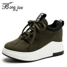 Женская удобная обувь на платформе; Женские кроссовки; chaussure