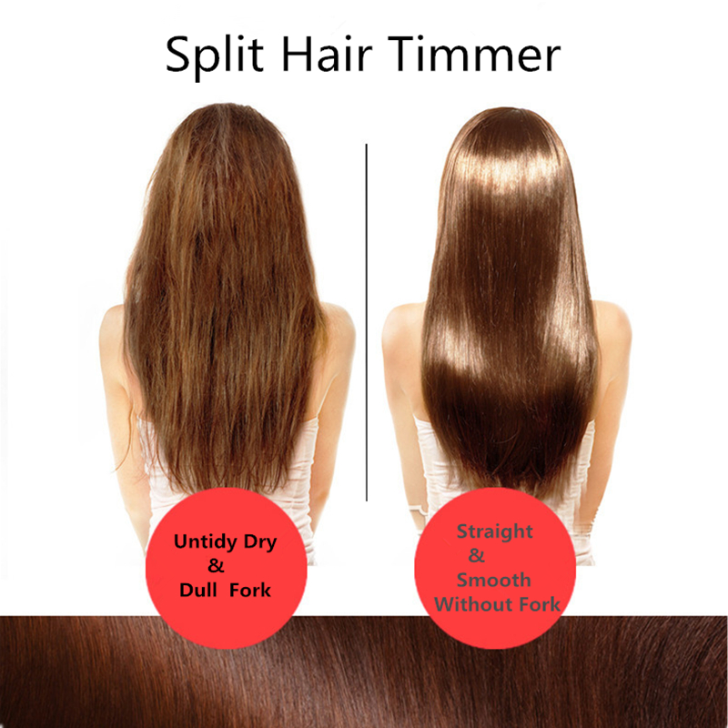 Trimmer Straightener Hairs-Cutter Hairy Battery-Split Branches-End Built-In