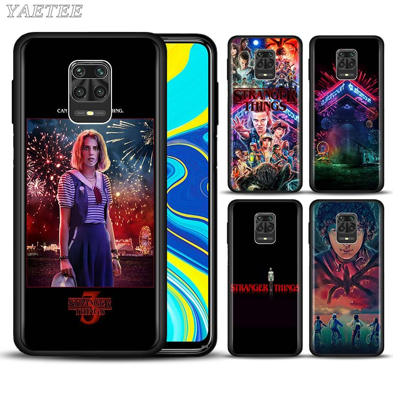 Stranger Things Stylishness And Elegance Phone Case For Xiaomi Redmi Note 8T 9S 6 7 8 9 Pro 6A 7A 8A K20 K30 Pro Clear Soft Capa