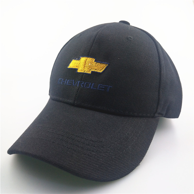 1Piece Baseball Cap Adjustable For Chevrolet Car Cap Casual Leisure Hats Solid Color Fashion Summer Fall Hat
