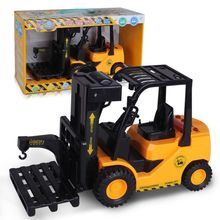 Electric remote control forklift toy construction toy for children R7RB