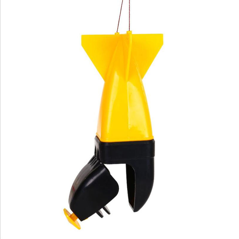 1 New Type Automatic Mine Counterattack High Quality Device Self-opening Bait Thrower In The Water For Fishing