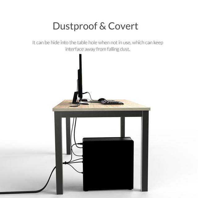 Business Travel Portable device USB HUB With Headphone Microphone Port
