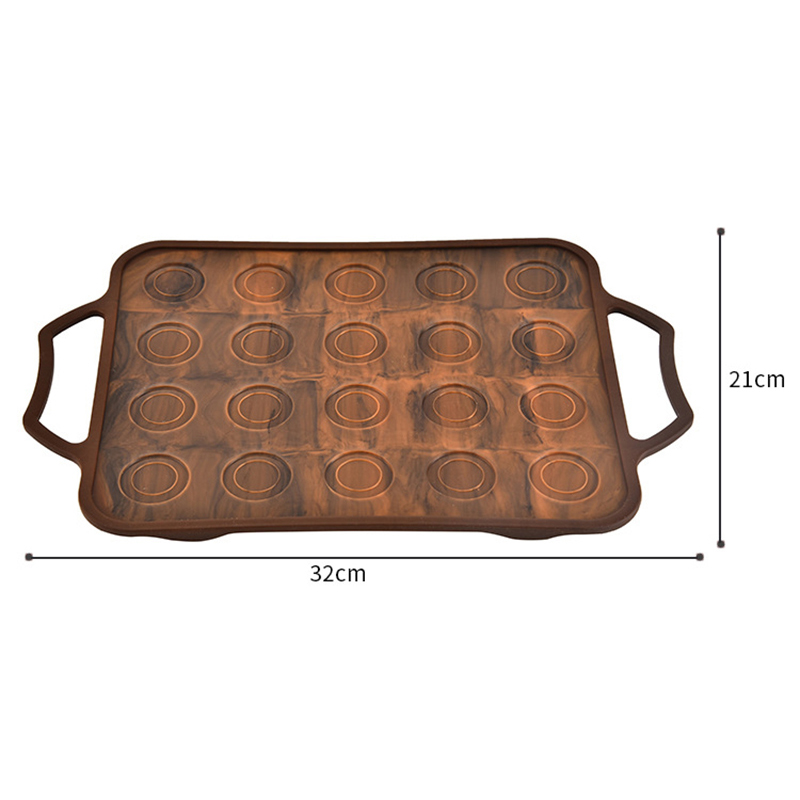 2019 New Silicone Macaron Baking Mat Non stick Baking Liner High Temperature Resistant Baking Sheet Cookie Pad in Baking Mats Liners from Home Garden