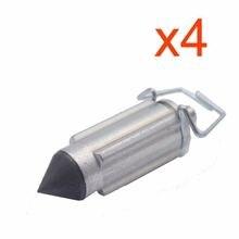 4 шт карбюратор клапанные иглы ремонтная часть для pz26 pz27