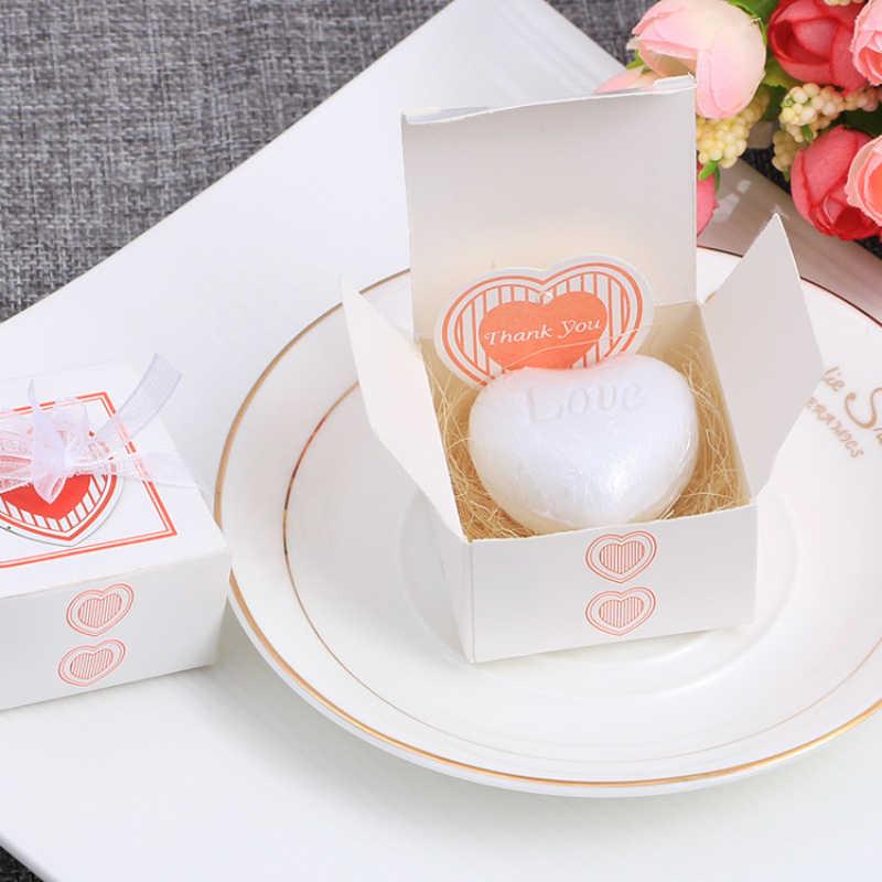 1pcs อุปกรณ์จัดงานแต่งงานของขวัญขนาดเล็กของขวัญพิธี Creative ขนาดเล็กของขวัญของขวัญกล่องบรรจุภัณฑ์ MINI สบู่ TSLM1 ใหม่