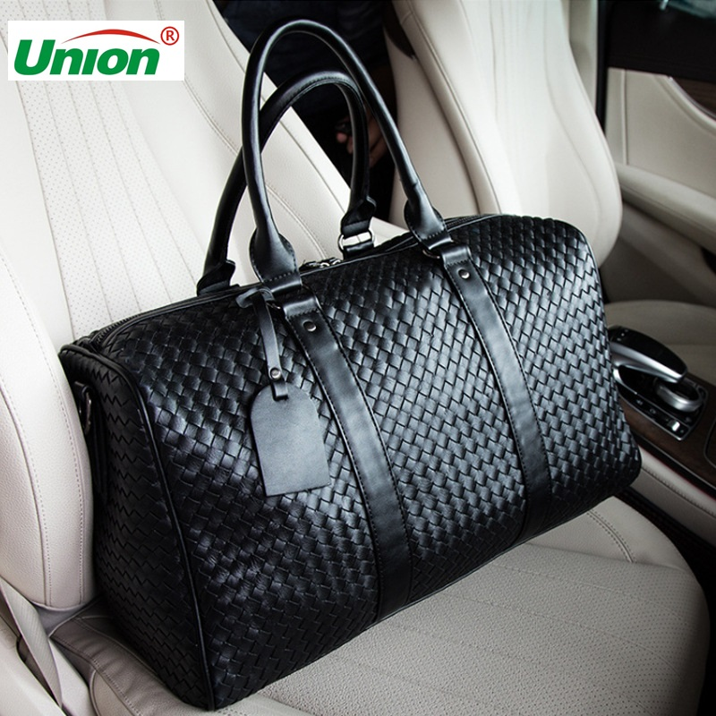 Handbag Duffle-Bags Travel-Bag Weeke Multifunction Large-Capacity Men Black Bolsos
