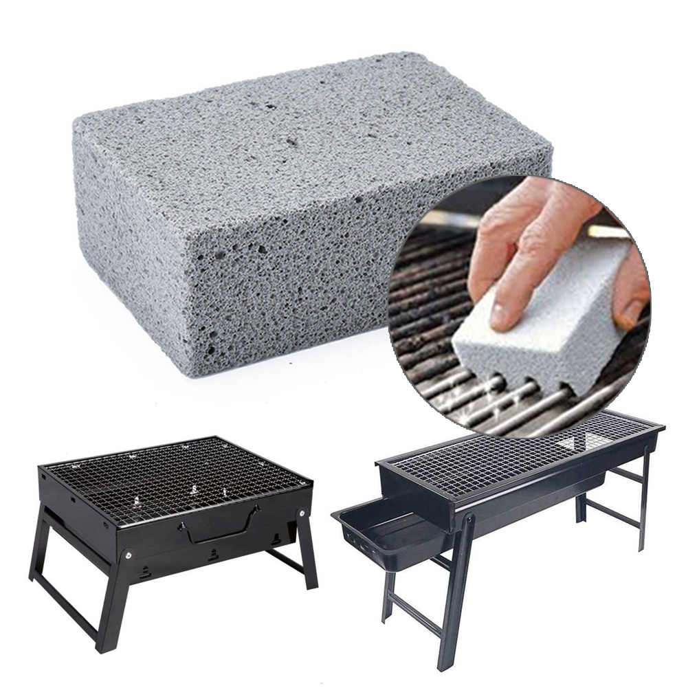 BBQ Grill Cleaning Brick Block Barbecue Cleaning Stone BBQ Racks ...
