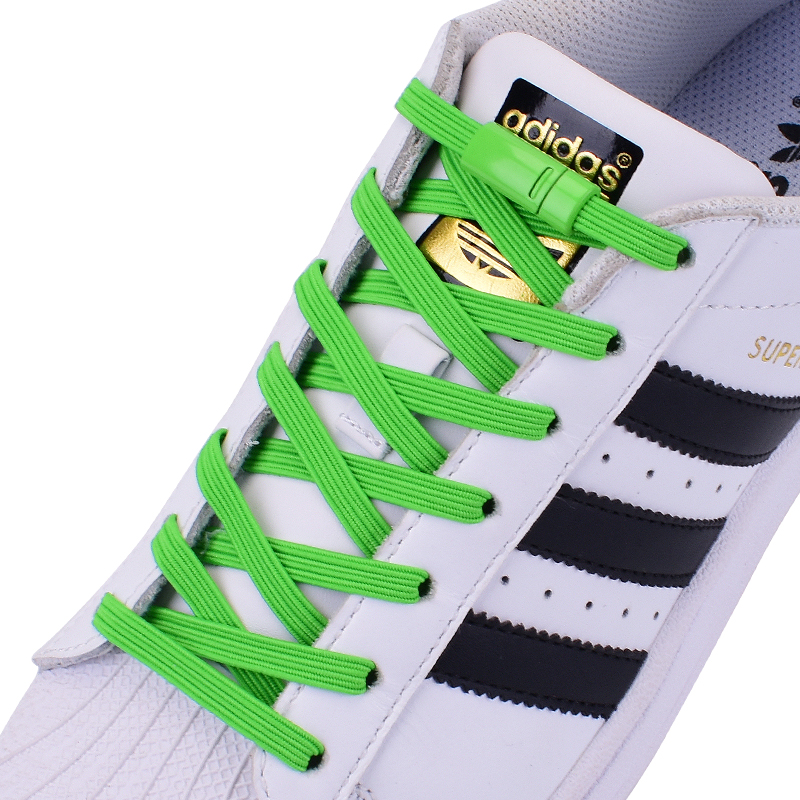 Elastic Shoelaces Metal Lock Magnetic No Tie Shoeslace Suitable For All Shoes Child Adult Walking Sneakers Lazy Laces 1 Pair