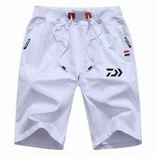 Drop Shipping M-5XL Daiwa Big Size Men Fishing Short Pant Summer Outdoor Hiking Climbing Sports Pants Fishing Clothing Trousers